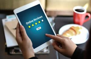 online reviews image